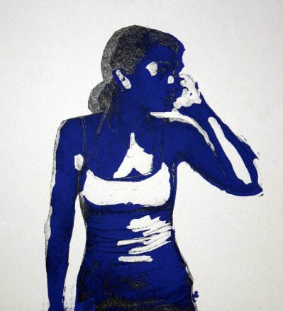 Anne : Silkscreen, Lithograph; 2009